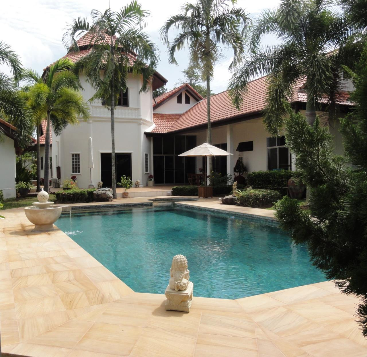 REAL Phuket  Agency's The Tower Villa - Beautiful 3+1 Bedroom Pool Villa on 2,000 sqm Land Plot 1