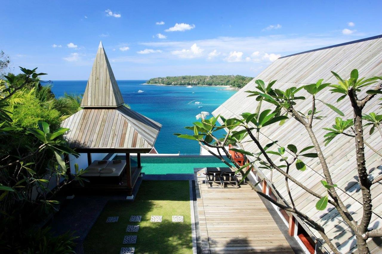 REAL Phuket  Agency's Laemsingh - Outstanding 4-Bedroom Sea View Villa overlooking Surin Beach 3