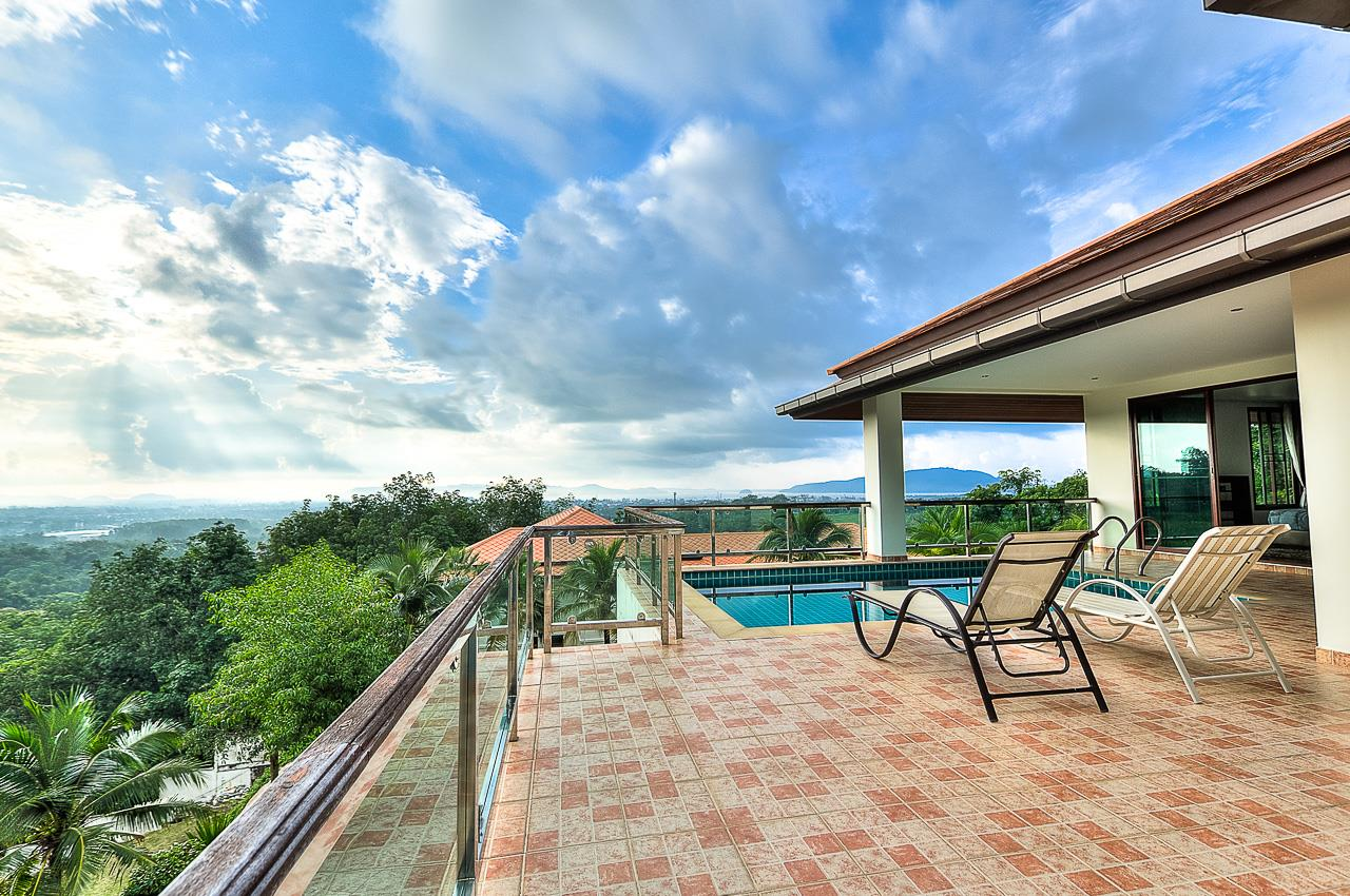REAL Phuket  Agency's Treasure Park - 5-Bedroom Sea View Villa in Chalong 35