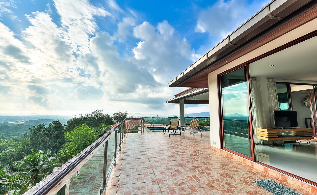 REAL Phuket  Agency's Treasure Park - 5-Bedroom Sea View Villa in Chalong 38