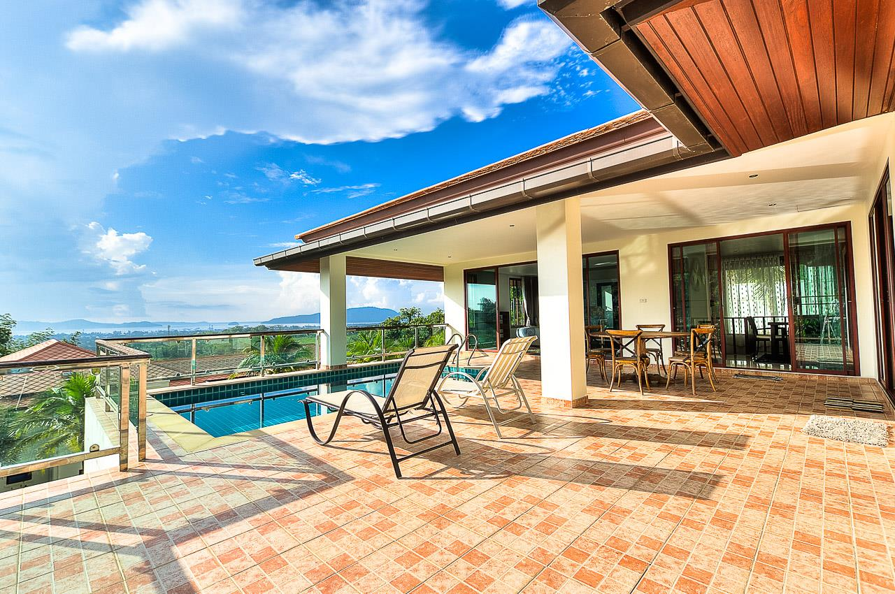 REAL Phuket  Agency's Treasure Park - 5-Bedroom Sea View Villa in Chalong 1