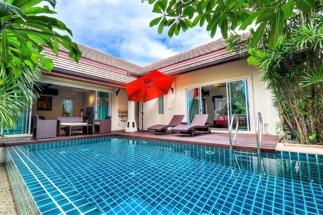 REAL Phuket  Agency's Kokyang - 3-Bedroom Pool Villa in Nai Harn for Long-term Rent 1