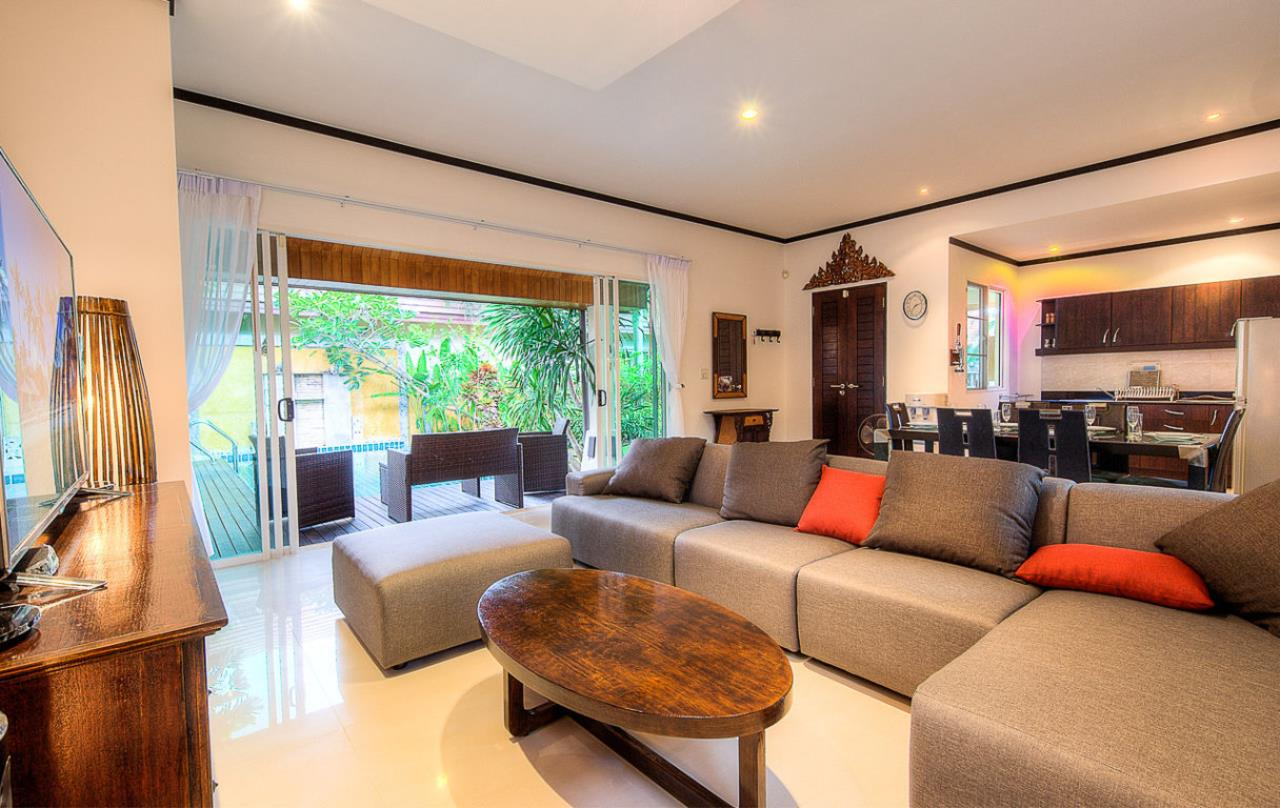 REAL Phuket  Agency's Kokyang - 3-Bedroom Pool Villa in Nai Harn for Long-term Rent 24