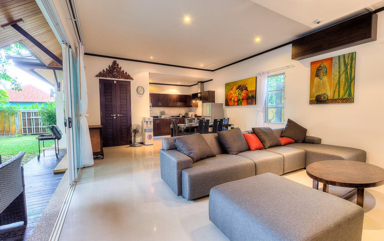 REAL Phuket  Agency's Kokyang - 3-Bedroom Pool Villa in Nai Harn for Long-term Rent 25