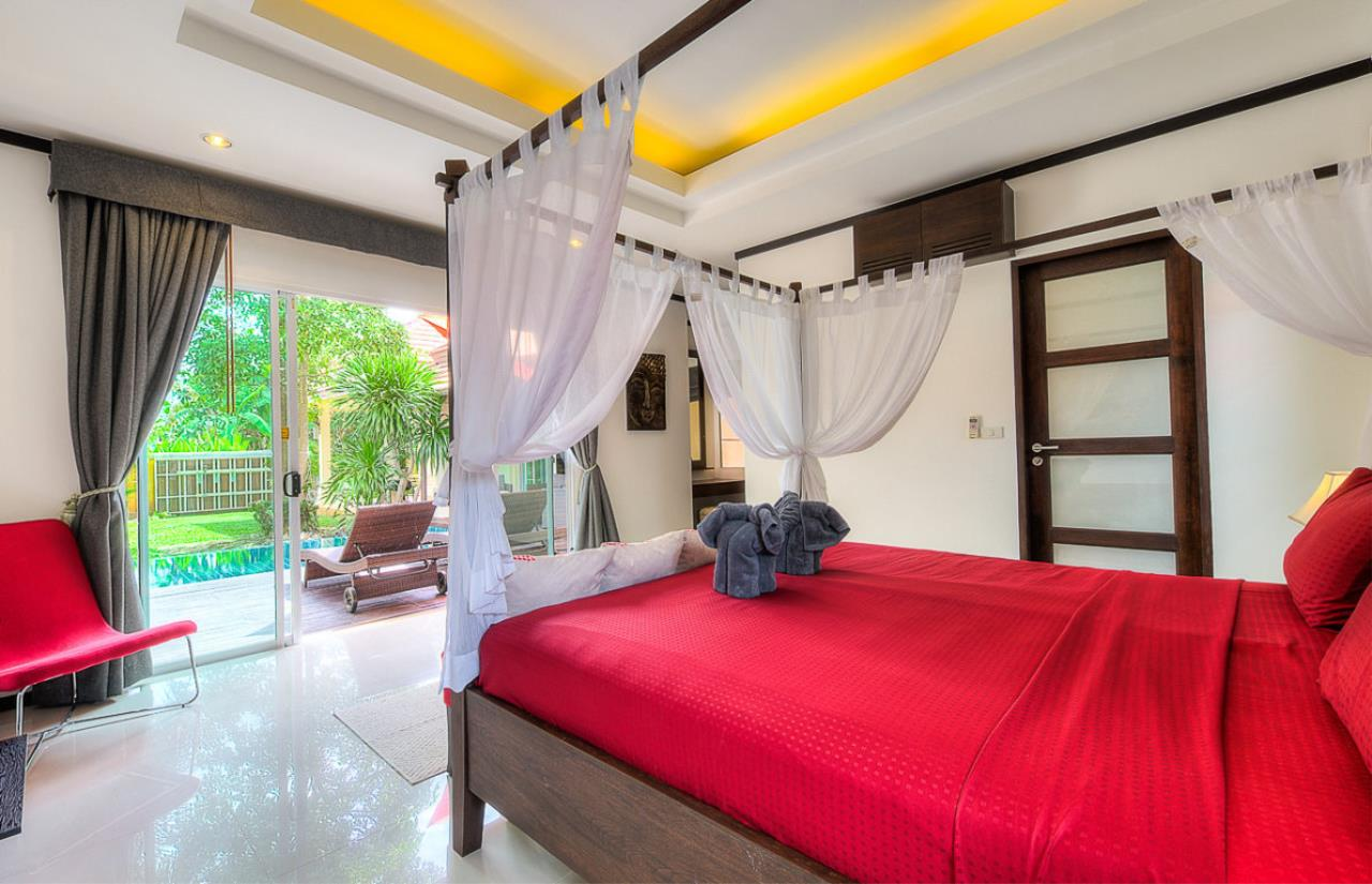REAL Phuket  Agency's Kokyang - 3-Bedroom Pool Villa in Nai Harn for Long-term Rent 4