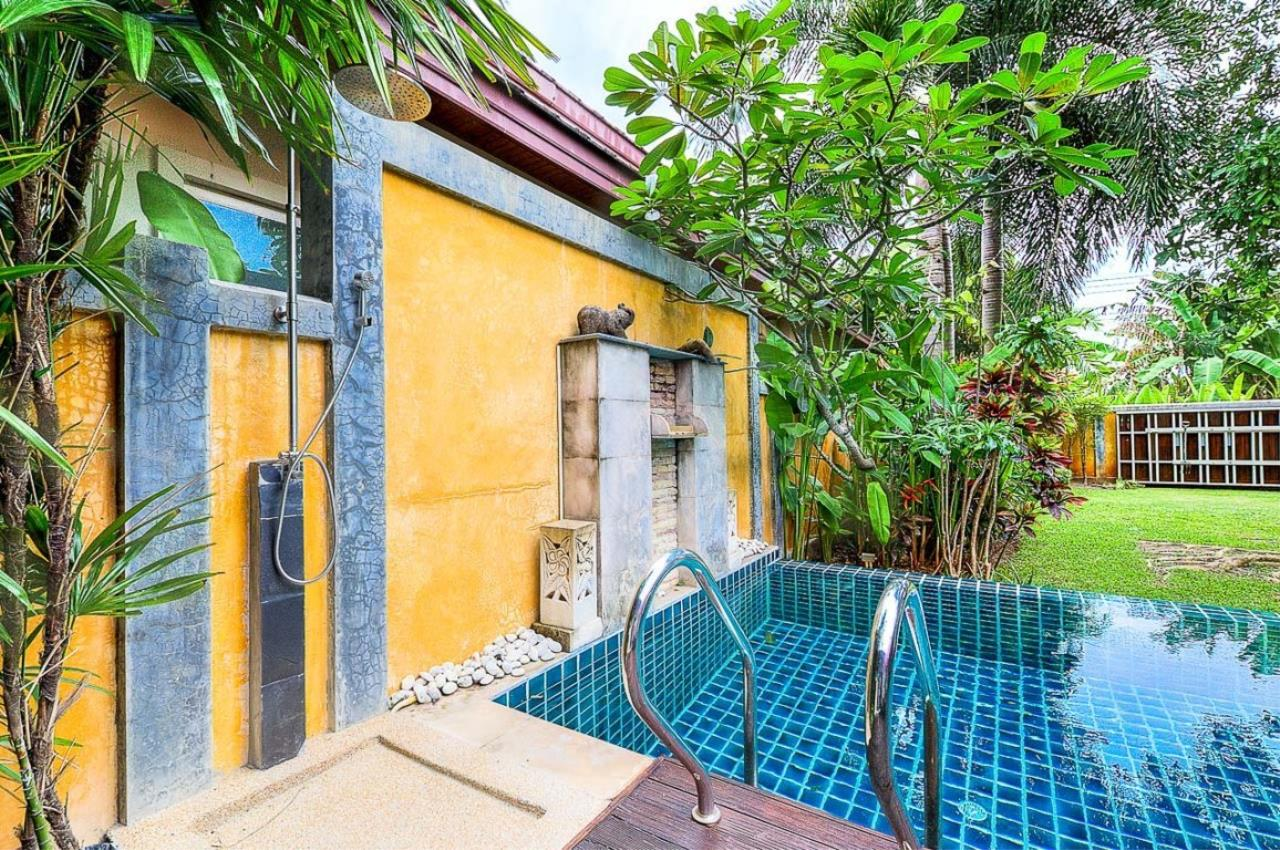 REAL Phuket  Agency's Kokyang - 3-Bedroom Pool Villa in Nai Harn for Long-term Rent 53