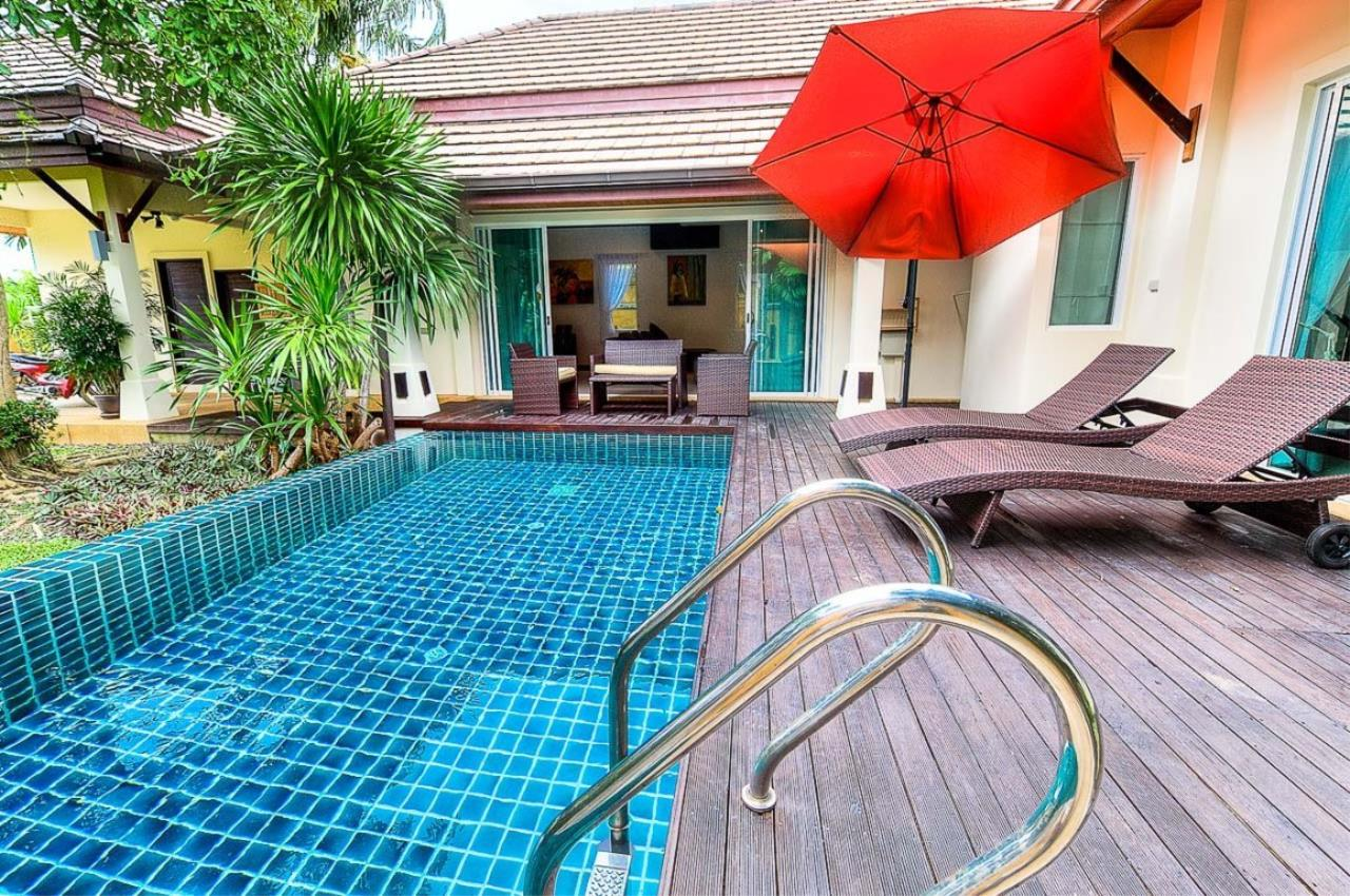 REAL Phuket  Agency's Kokyang - 3-Bedroom Pool Villa in Nai Harn for Long-term Rent 54