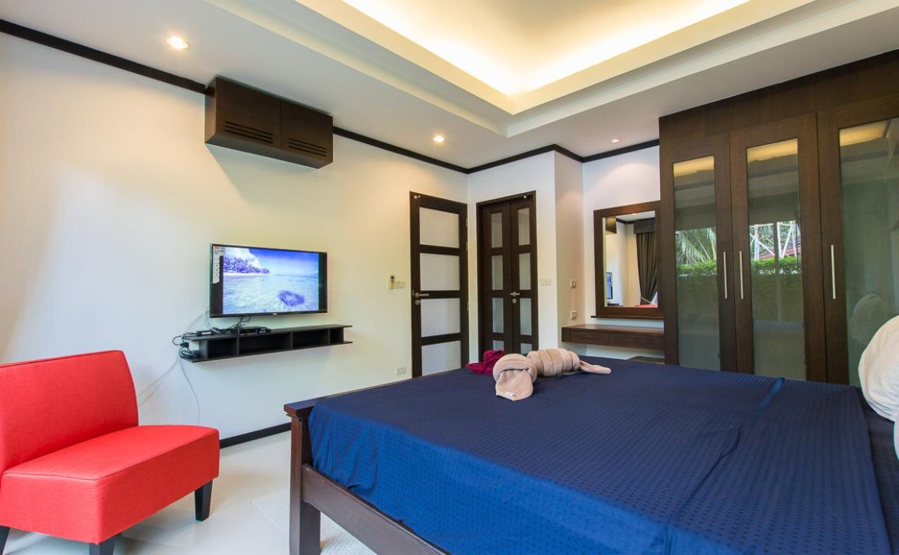 REAL Phuket  Agency's Kokyang - 3-Bedroom Pool Villa in Nai Harn for Long-term Rent 10