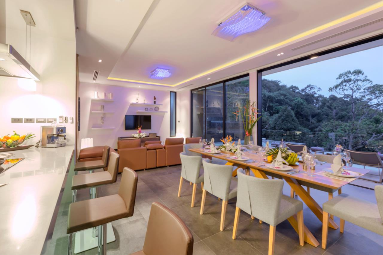 REAL Phuket  Agency's Exquisite 3-Bedroom Sea View Villa in Bang Tao 10