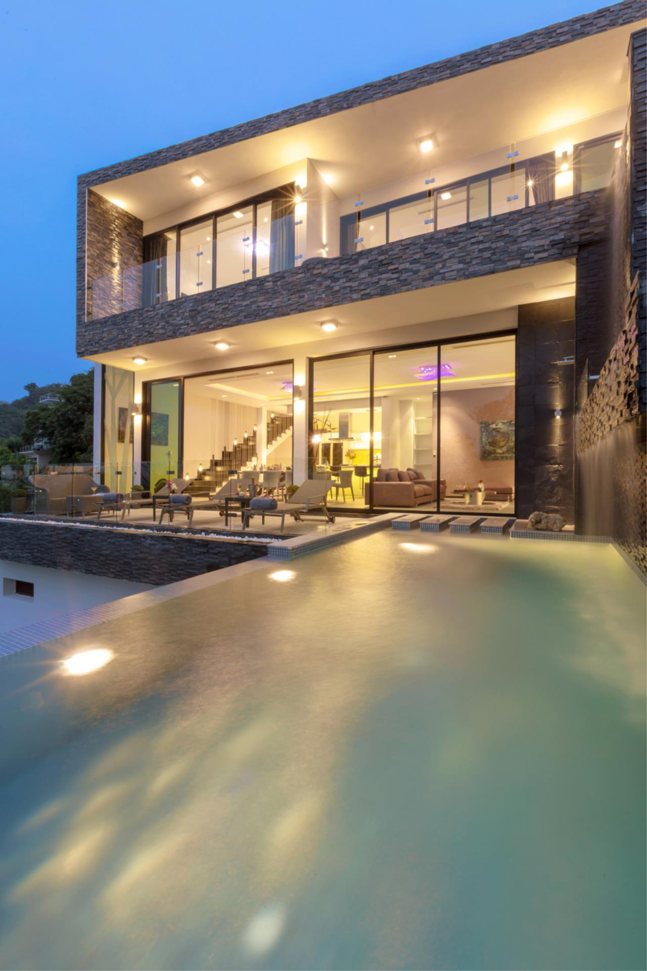 REAL Phuket  Agency's Exquisite 3-Bedroom Sea View Villa in Bang Tao 14