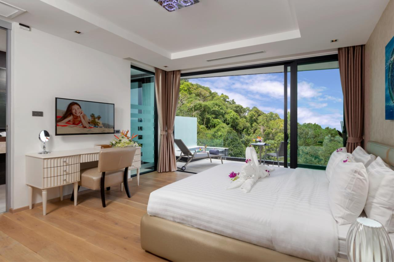 REAL Phuket  Agency's Exquisite 3-Bedroom Sea View Villa in Bang Tao 17