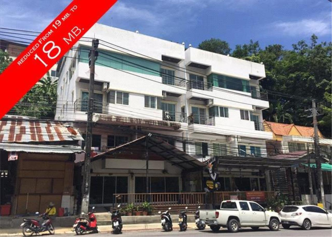 REAL Phuket  Agency's 4-Storey Apartment Building with 8 Suites and Restaurant in Patong 1