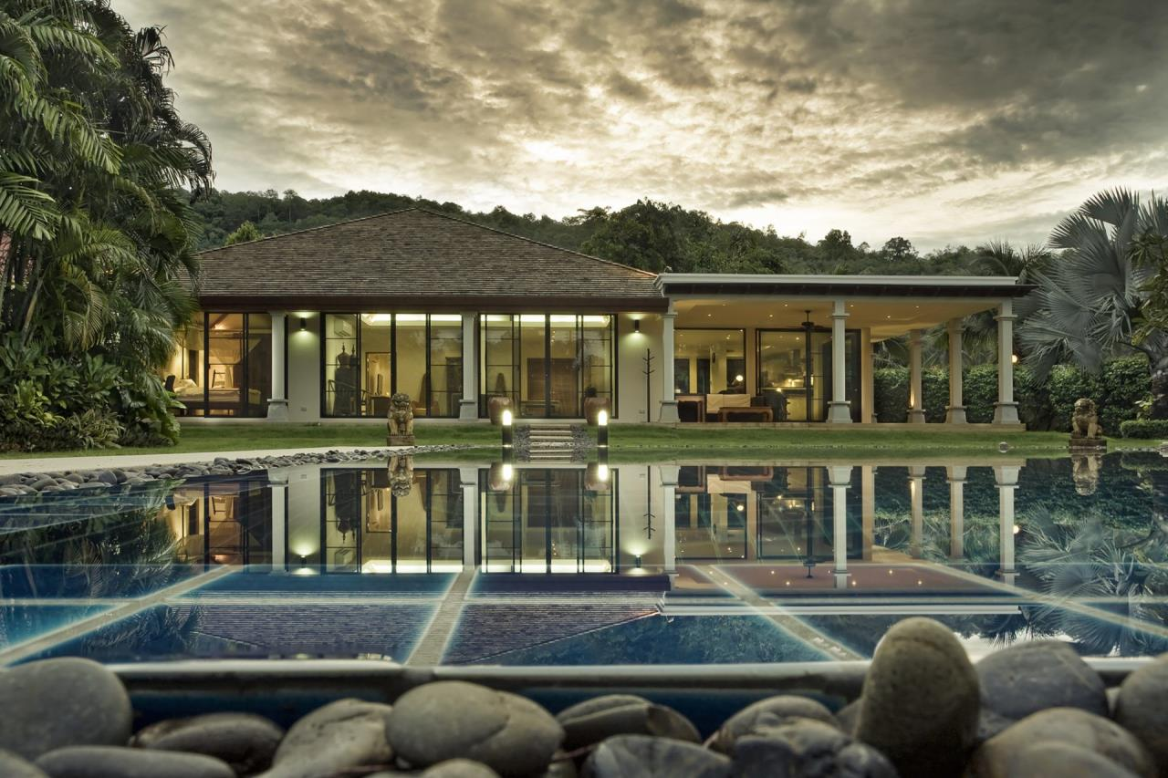 REAL Phuket  Agency's Villa Namm - 6-Bedroom Pool Villa in Nai Harn 1