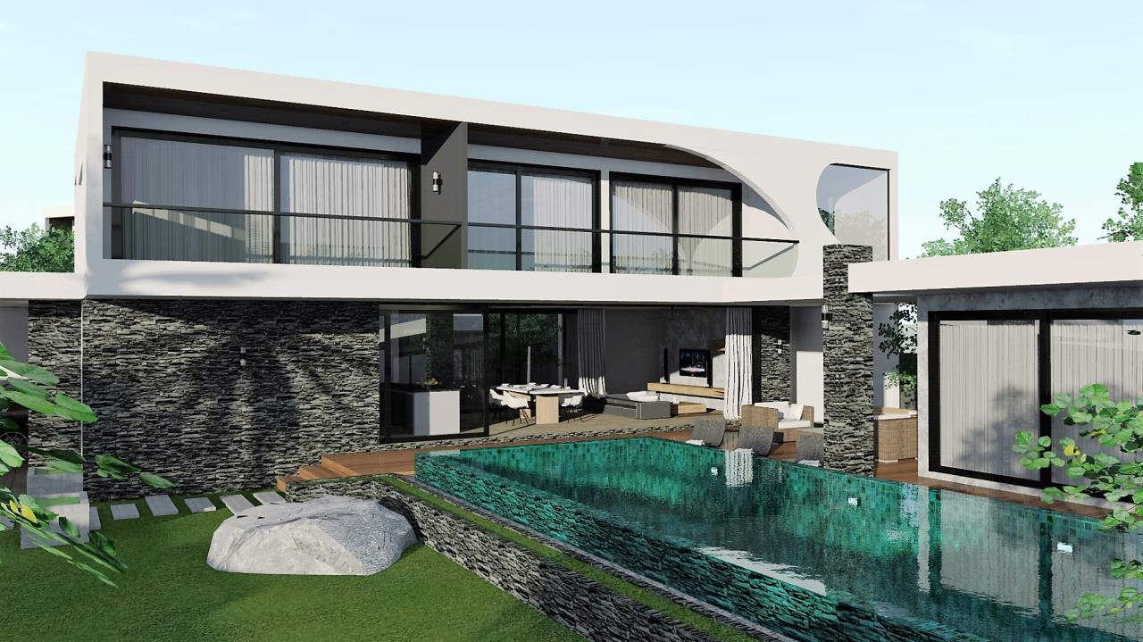 REAL Phuket  Agency's The LUX - New Development of Ultra-modern Pool Villas in Cherngtalay 11