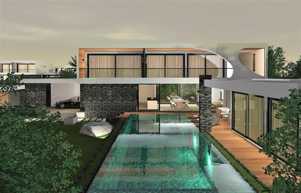 REAL Phuket  Agency's The LUX - New Development of Ultra-modern Pool Villas in Cherngtalay 12