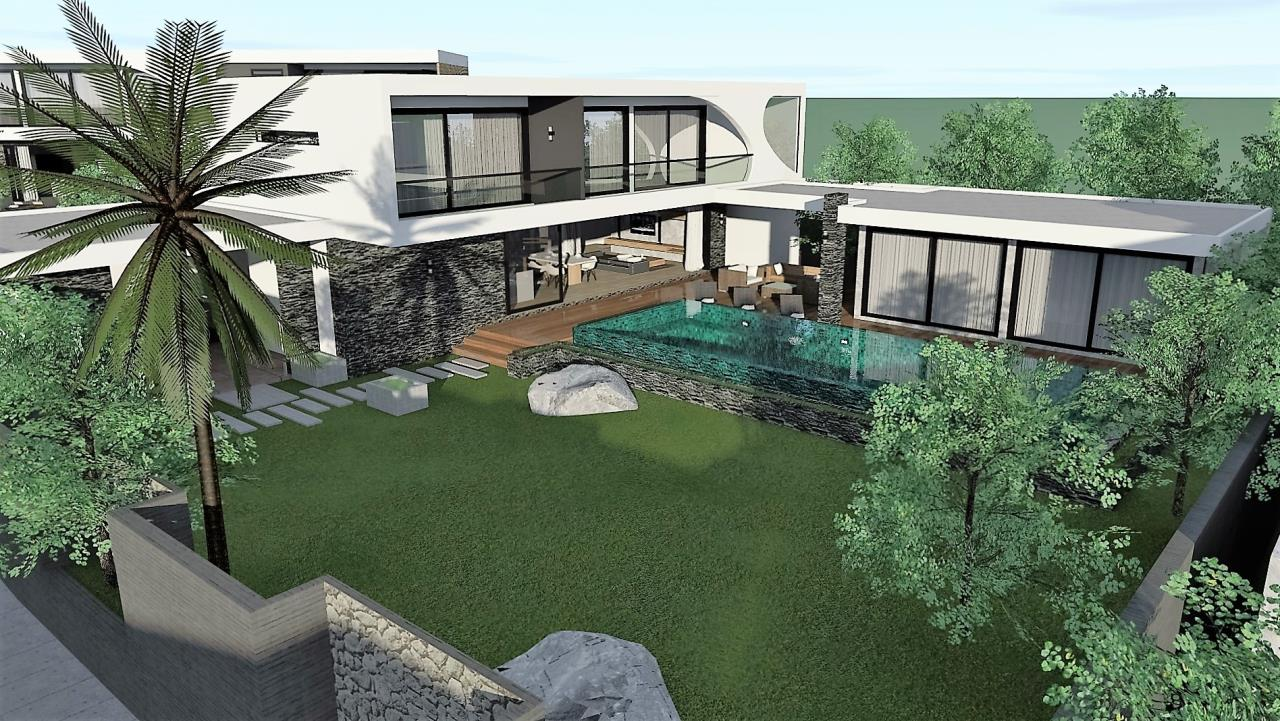 REAL Phuket  Agency's The LUX - New Development of Ultra-modern Pool Villas in Cherngtalay 13