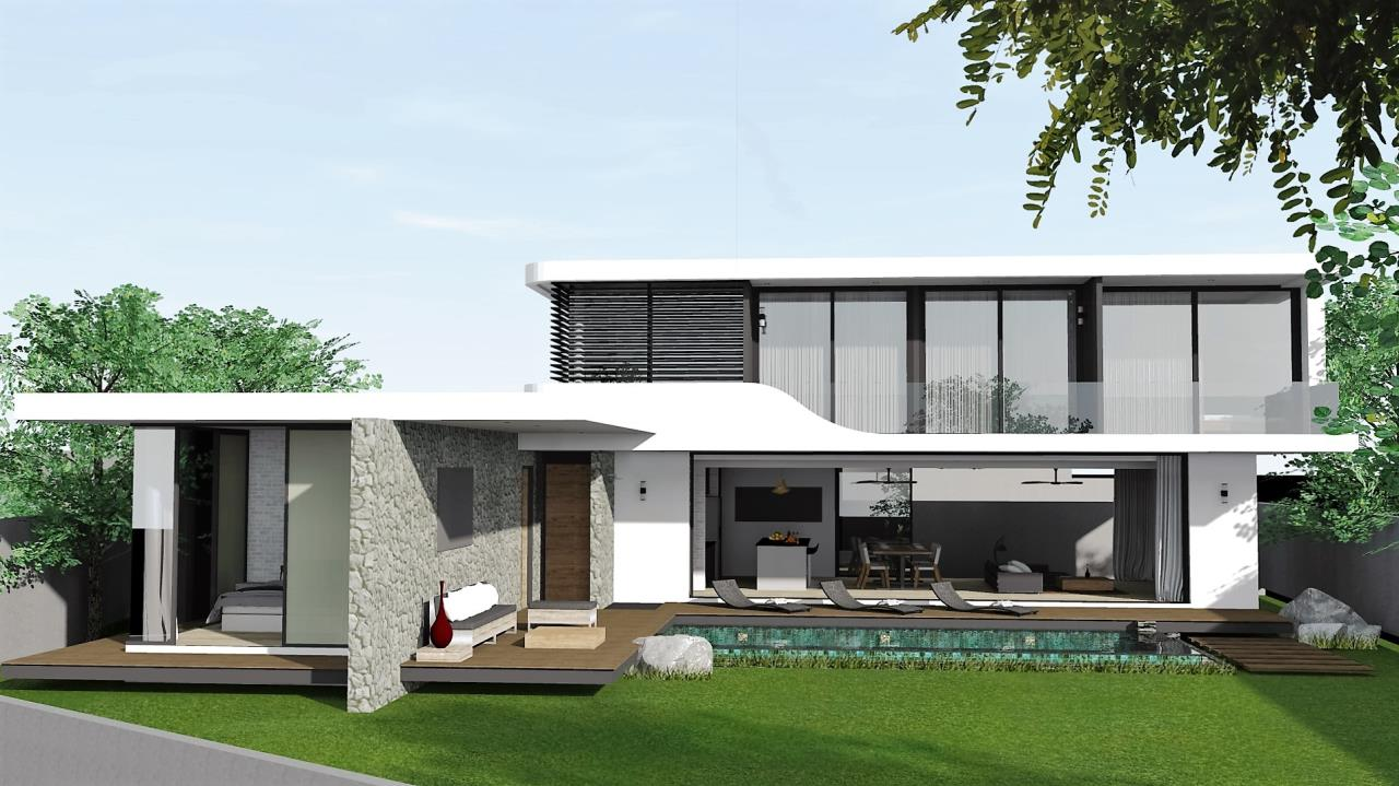 REAL Phuket  Agency's The LUX - New Development of Ultra-modern Pool Villas in Cherngtalay 5