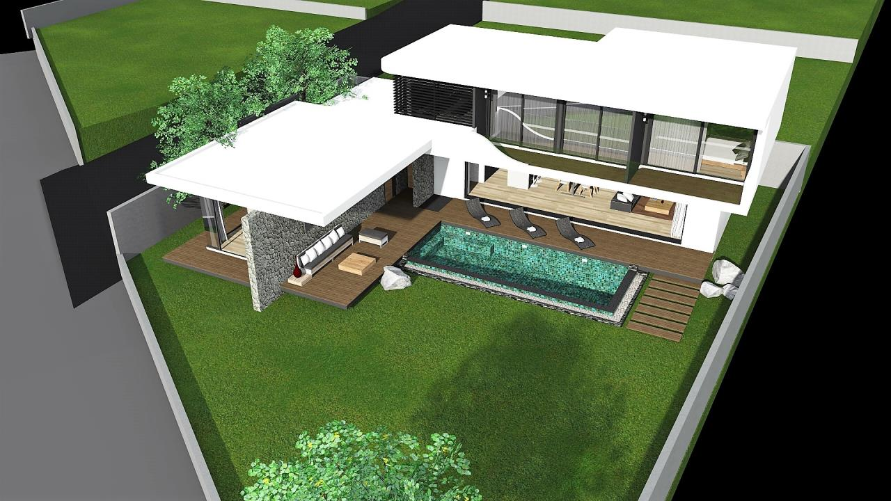 REAL Phuket  Agency's The LUX - New Development of Ultra-modern Pool Villas in Cherngtalay 6