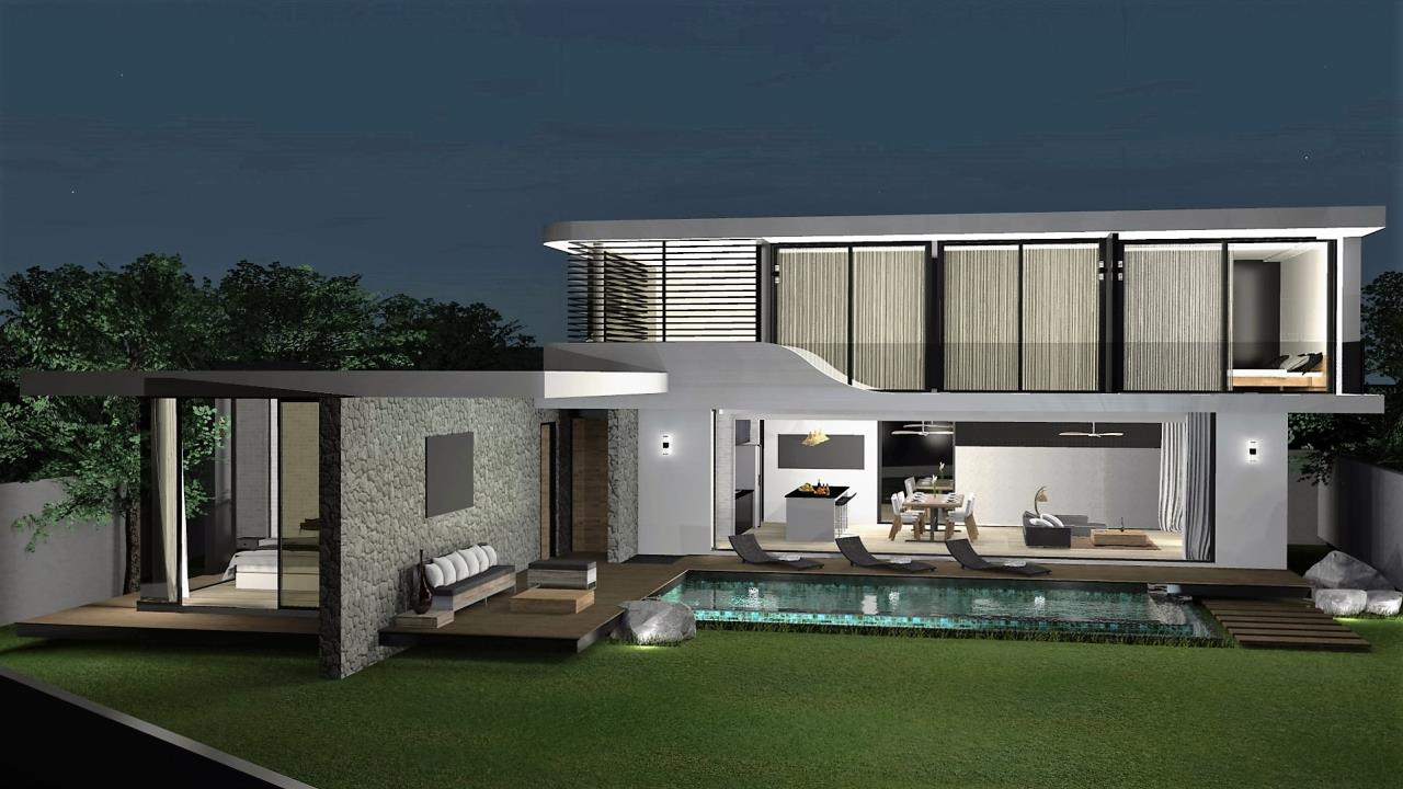 REAL Phuket  Agency's The LUX - New Development of Ultra-modern Pool Villas in Cherngtalay 9