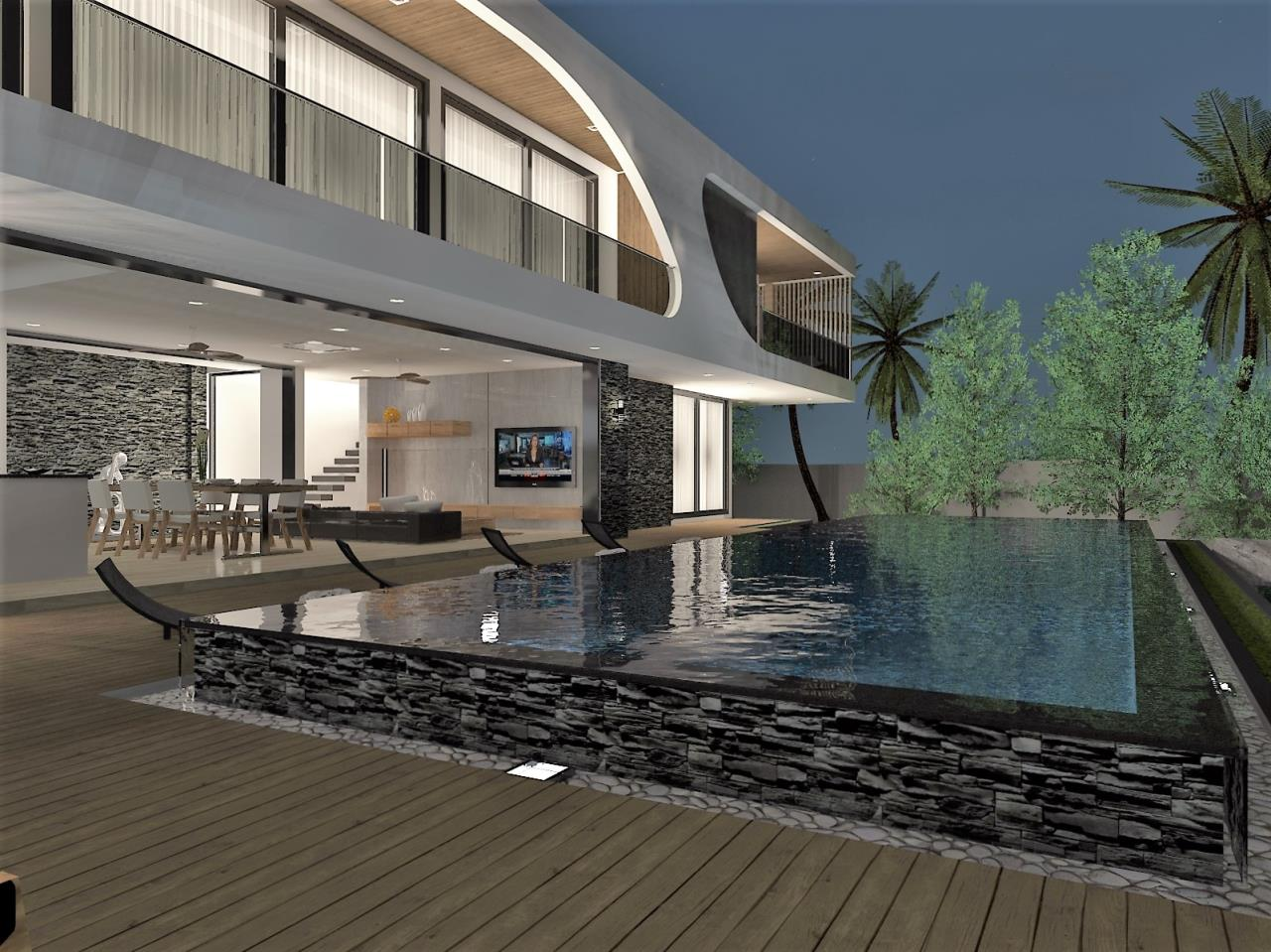 REAL Phuket  Agency's The LUX - New Development of Ultra-modern Pool Villas in Cherngtalay 17