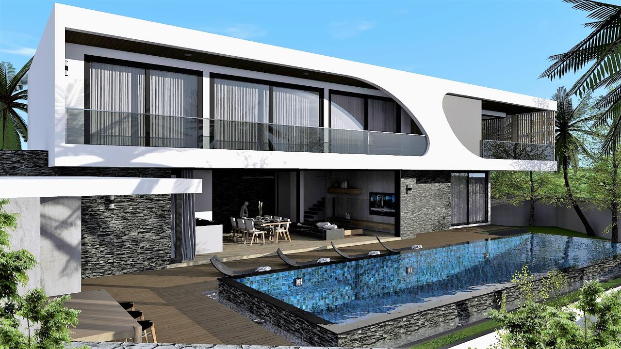 REAL Phuket  Agency's The LUX - New Development of Ultra-modern Pool Villas in Cherngtalay 1