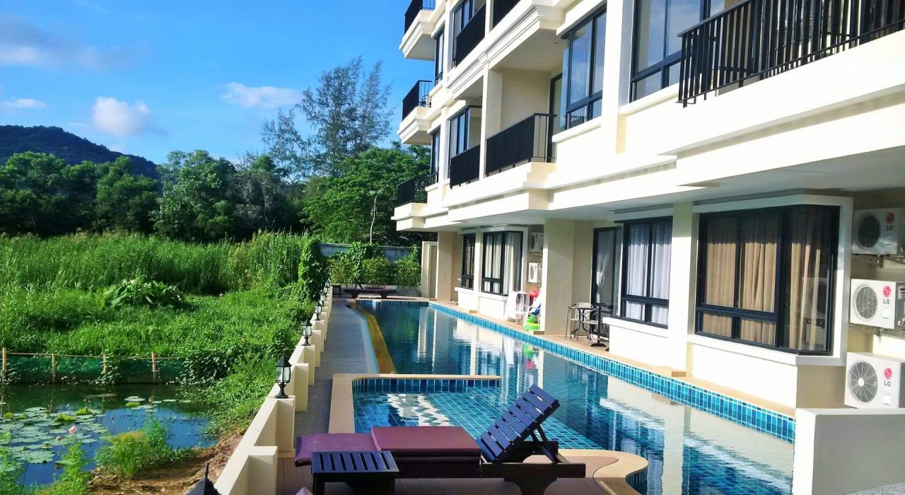 REAL Phuket  Agency's The Lago - Nai Harn Beach Condo for Rent 1