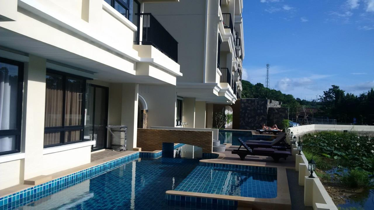 REAL Phuket  Agency's The Lago - Nai Harn Beach Condo for Rent 5