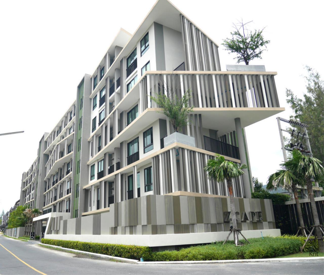 REAL Phuket  Agency's ZCape II Condominium @ Boat Avenue (Laguna) - 1-Bedroom Apartment 1