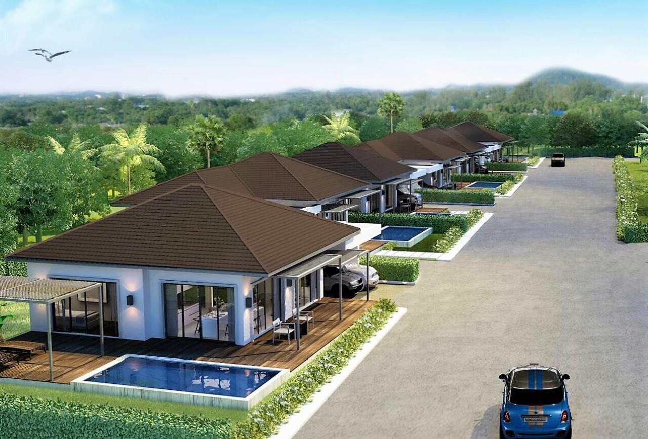 REAL Phuket  Agency's Sun Palm Village - New 3-Bedroom Pool Villa near Chalong Bay 2