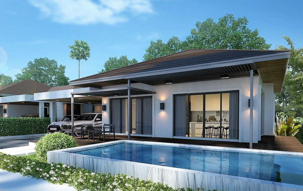 REAL Phuket  Agency's Sun Palm Village - New 3-Bedroom Pool Villa near Chalong Bay 1