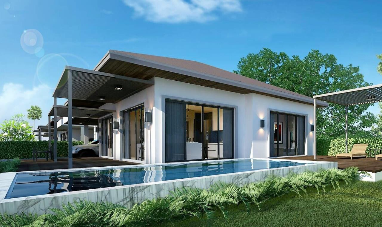 REAL Phuket  Agency's Sun Palm Village - New 3-Bedroom Pool Villa near Chalong Bay 4