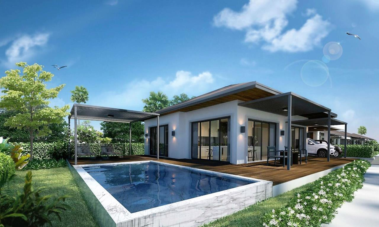 REAL Phuket  Agency's Sun Palm Village - New 3-Bedroom Pool Villa near Chalong Bay 5