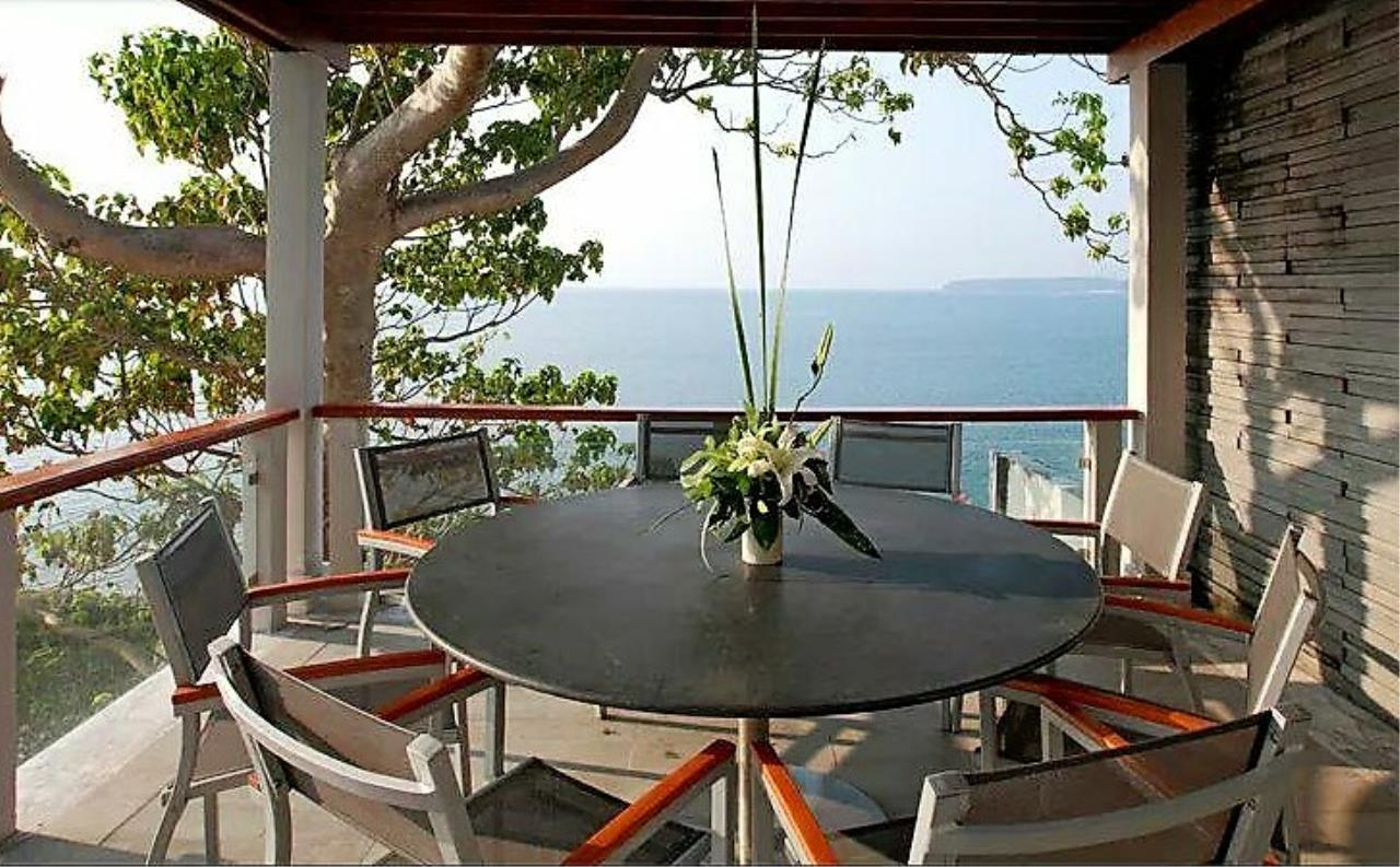 REAL Phuket  Agency's Cape Sienna - Absolute Oceanfront 4-Bedroom Pool Villa in Kamala 3