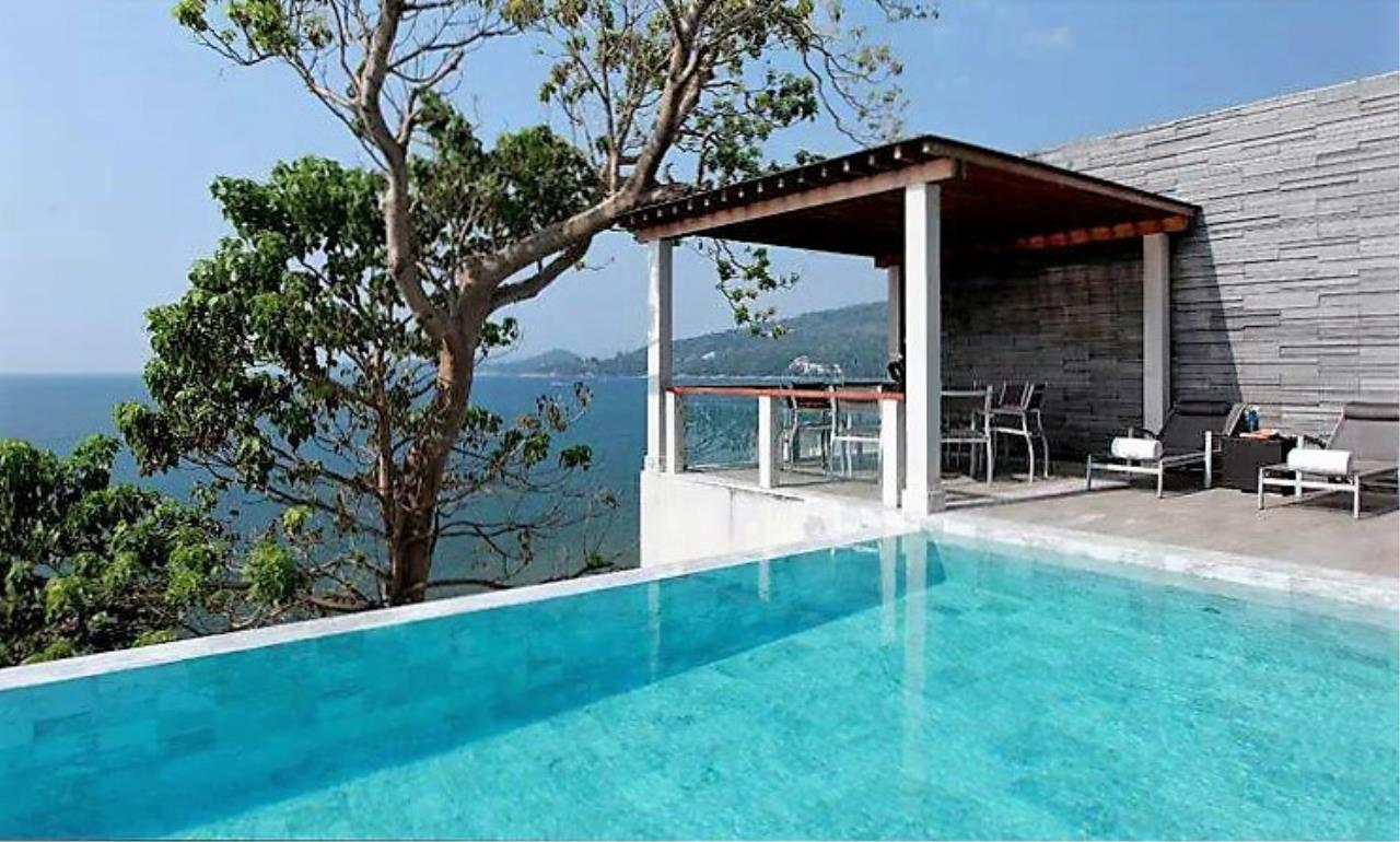 REAL Phuket  Agency's Cape Sienna - Absolute Oceanfront 4-Bedroom Pool Villa in Kamala 5