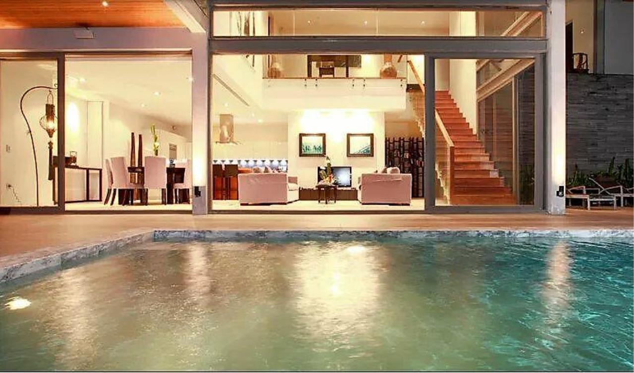 REAL Phuket  Agency's Cape Sienna - Absolute Oceanfront 4-Bedroom Pool Villa in Kamala 6