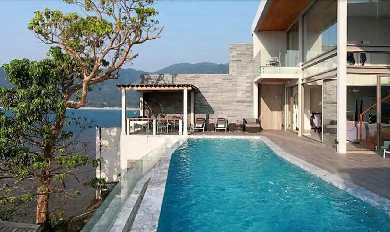 REAL Phuket  Agency's Cape Sienna - Absolute Oceanfront 4-Bedroom Pool Villa in Kamala 7