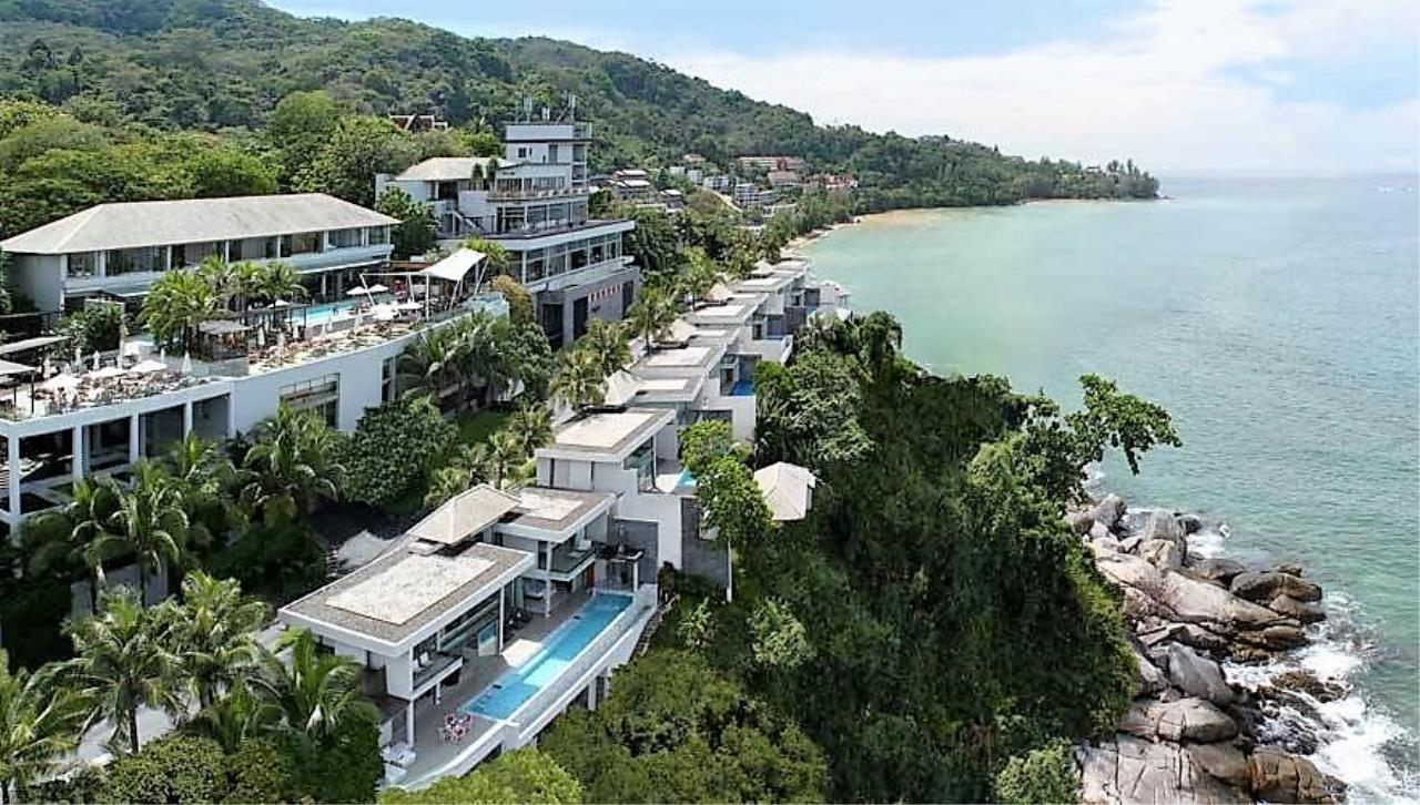 REAL Phuket  Agency's Cape Sienna - Absolute Oceanfront 4-Bedroom Pool Villa in Kamala 1