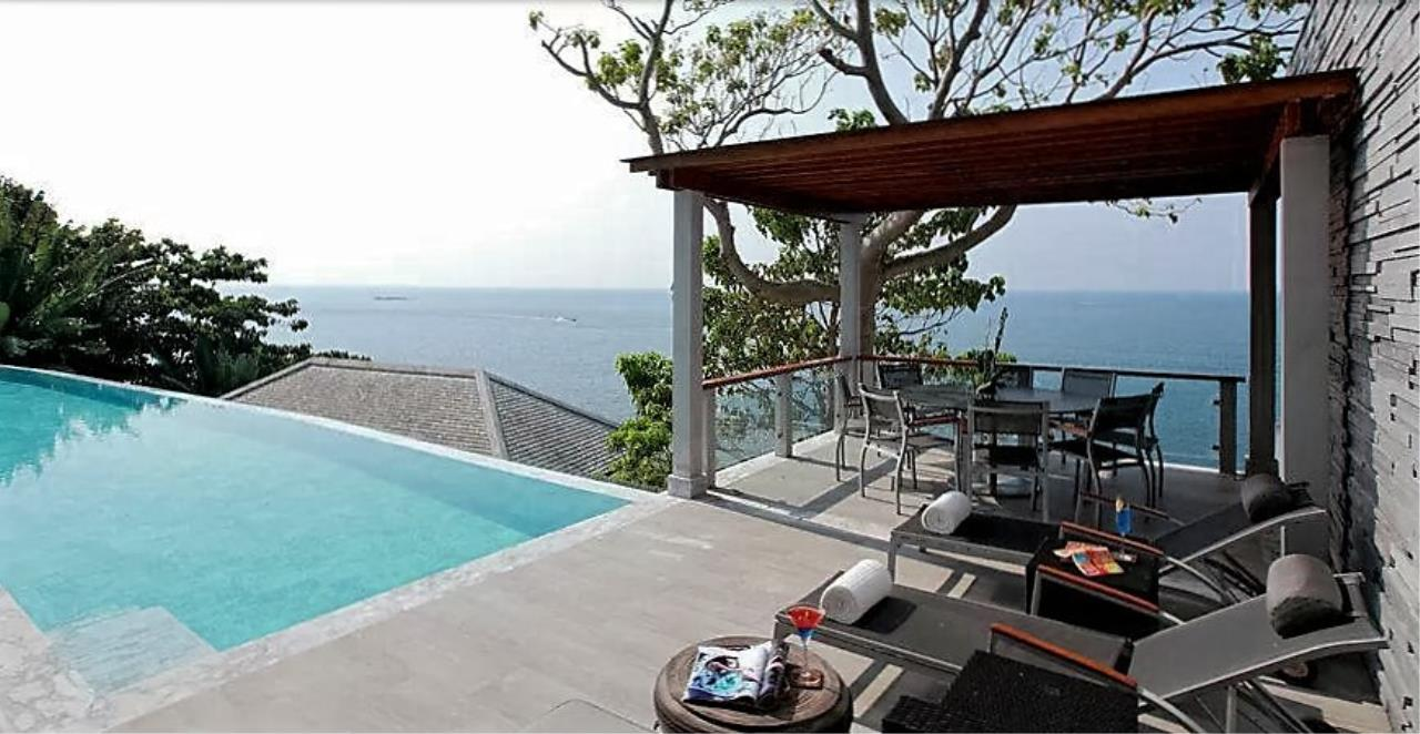 REAL Phuket  Agency's Cape Sienna - Absolute Oceanfront 4-Bedroom Pool Villa in Kamala 15