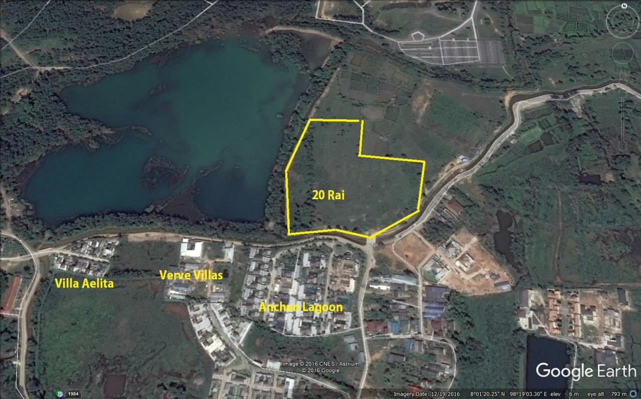 REAL Phuket  Agency's Lakeside 20 Rai Prime Development Land in Layan 2