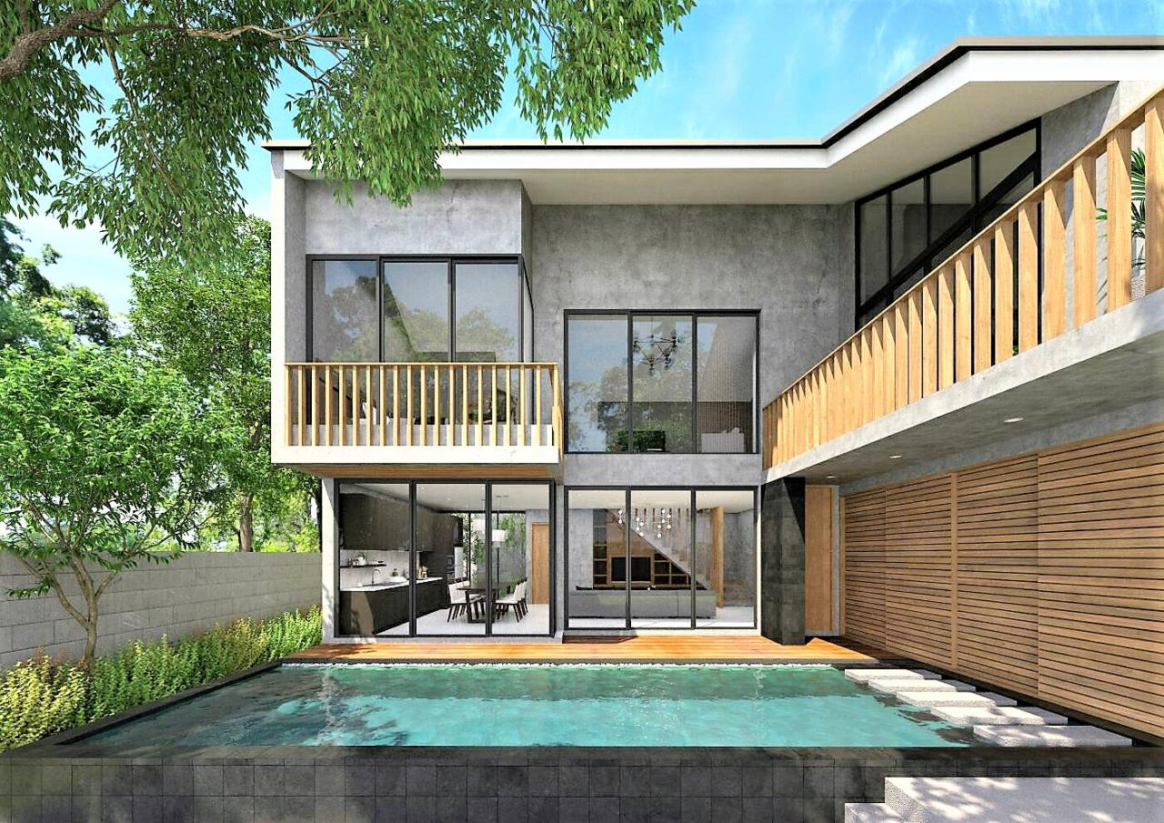 REAL Phuket  Agency's Wallaya Villas - New Modern 3-Bedroom Pool Villas in Pasak / Laguna Area 1