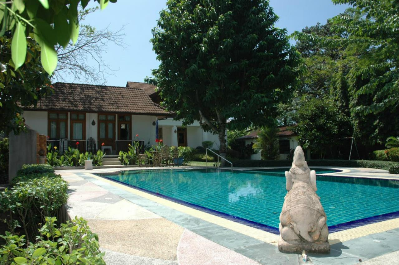 REAL Phuket  Agency's 5-Bedroom Pool Villa with Spacious Garden in Nai Harn 1