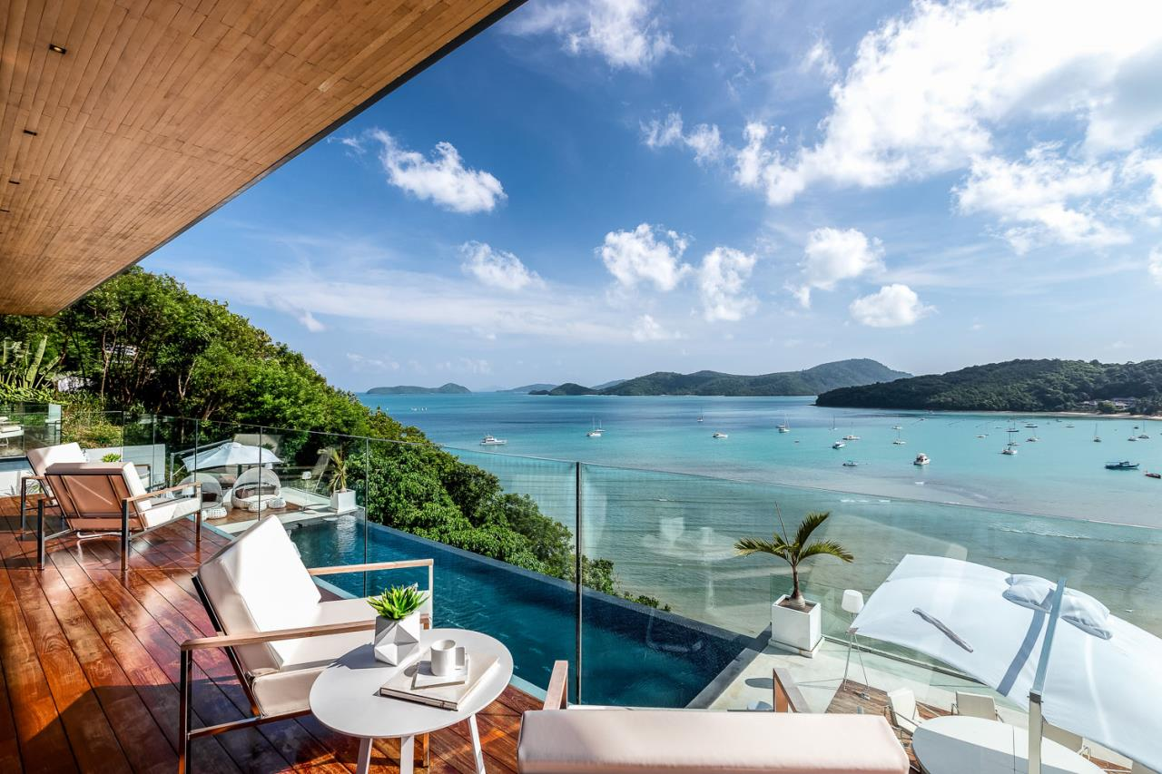 REAL Phuket  Agency's Cliff Top Residence - Ultra-High-End Oceanfront Villa in Cape Panwa 4