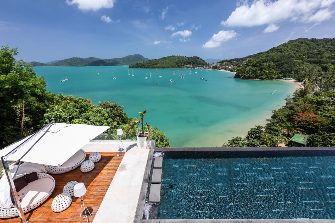 REAL Phuket  Agency's Cliff Top Residence - Ultra-High-End Oceanfront Villa in Cape Panwa 5