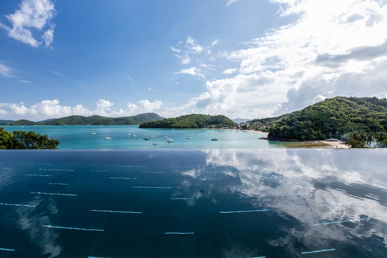 REAL Phuket  Agency's Cliff Top Residence - Ultra-High-End Oceanfront Villa in Cape Panwa 7
