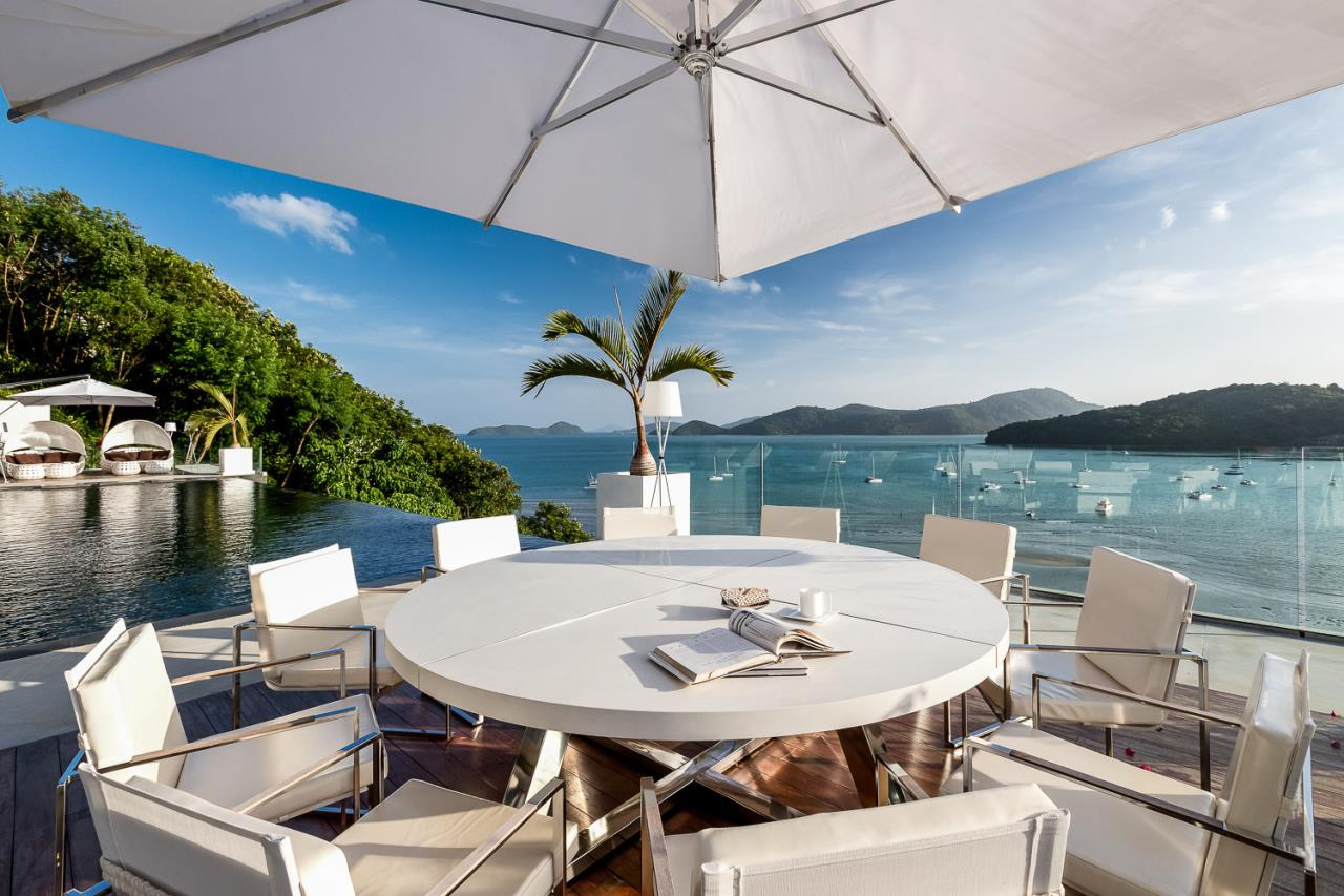 REAL Phuket  Agency's Cliff Top Residence - Ultra-High-End Oceanfront Villa in Cape Panwa 8