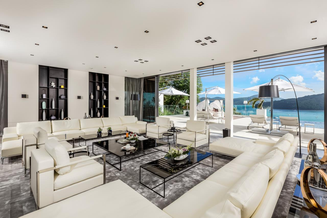 REAL Phuket  Agency's Cliff Top Residence - Ultra-High-End Oceanfront Villa in Cape Panwa 9