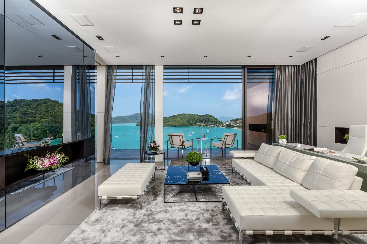 REAL Phuket  Agency's Cliff Top Residence - Ultra-High-End Oceanfront Villa in Cape Panwa 15