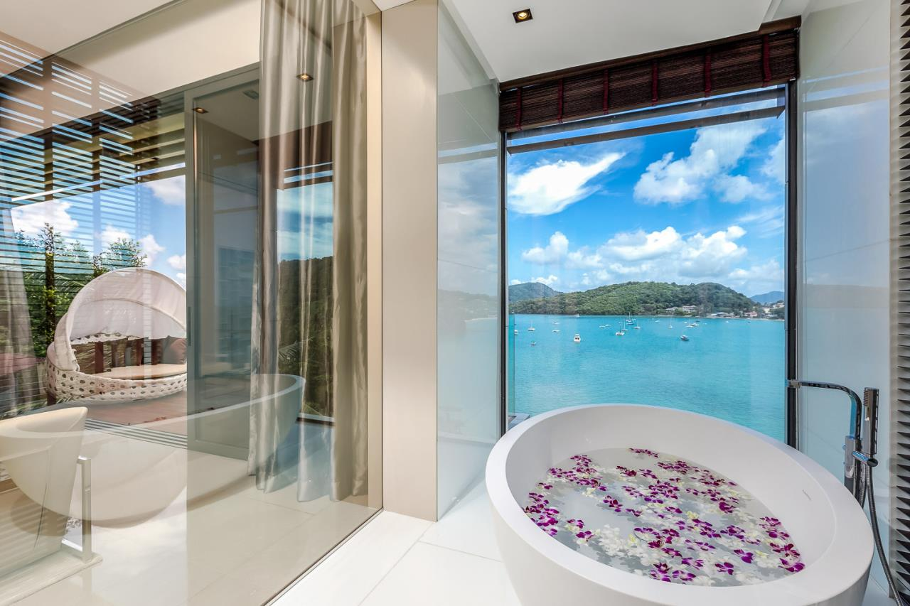REAL Phuket  Agency's Cliff Top Residence - Ultra-High-End Oceanfront Villa in Cape Panwa 20