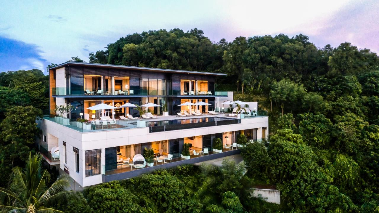 REAL Phuket  Agency's Cliff Top Residence - Ultra-High-End Oceanfront Villa in Cape Panwa 32