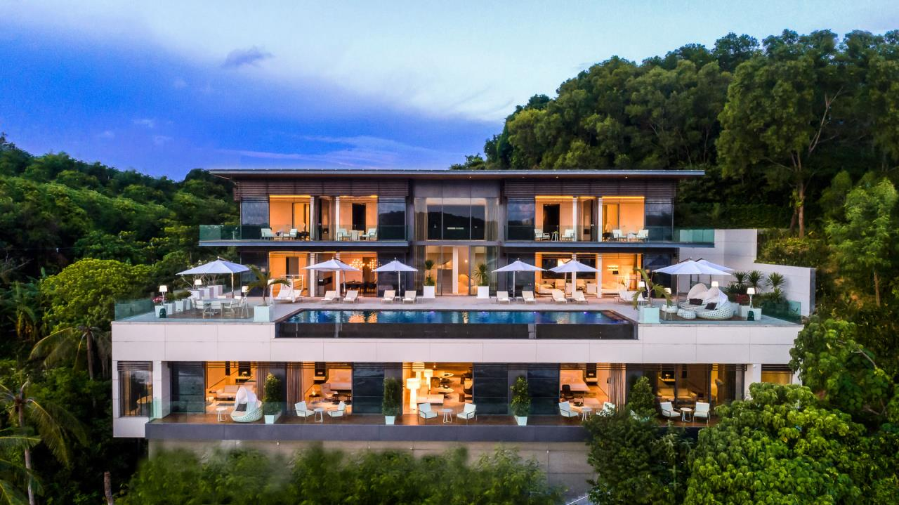 REAL Phuket  Agency's Cliff Top Residence - Ultra-High-End Oceanfront Villa in Cape Panwa 33